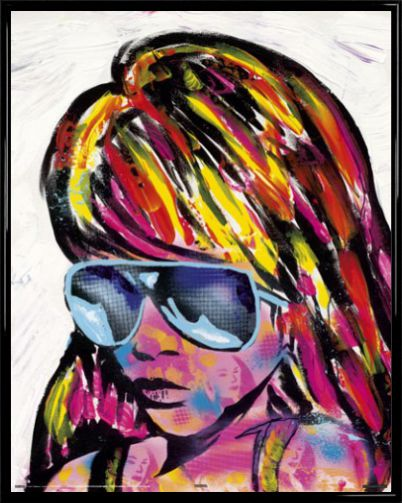 Pop Art - Sunglasses By Frank E Hollywood - Mini Posters ...