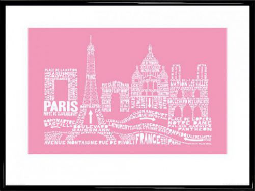paris citography reproductions acheter des posters sur le site de 1art1. Black Bedroom Furniture Sets. Home Design Ideas
