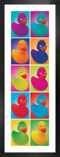 canards pop art reproductions acheter des posters. Black Bedroom Furniture Sets. Home Design Ideas