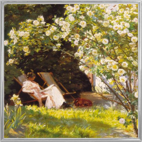 Peter severen kroyer le jardin de roses 1893 for Le jardin voyageur peter brown