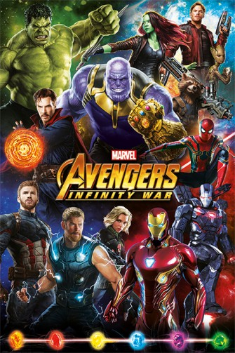 The Avengers - Infinity War, Characters