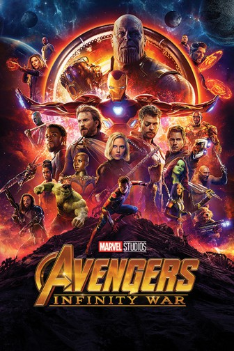 The Avengers - Infinity War, One Sheet