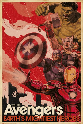 The Avengers - Marvel Avengers Earths Mightiest Heroes