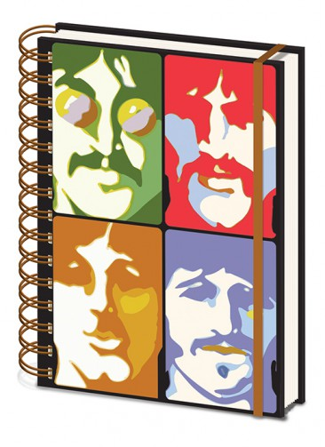 The Beatles - Yellow Submarine, Visages Pop Art