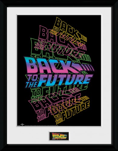 Back To The Future - Neon