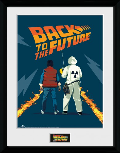 Back To The Future - Doc And Marty