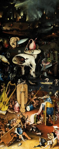 Hieronymus Bosch - The Garden Of Earthly Delights, 1500, 1 Part