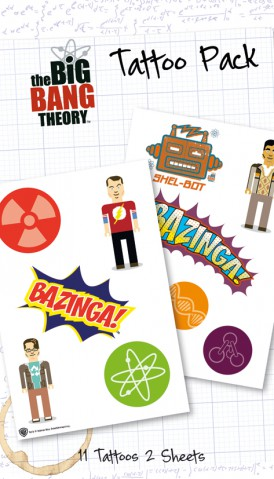 Big Bang Theory - Bazinga, 11 Tattoos