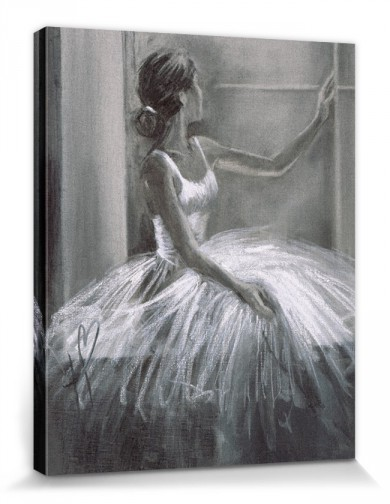 Ballet - Ballerina Looking Out Of The Window, Hazel Bowman