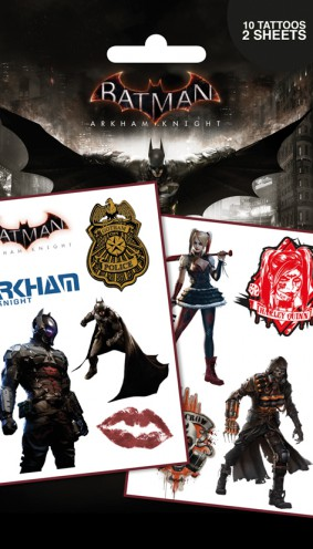 Batman - Arkham Knight, Characters, 10 Tattoos