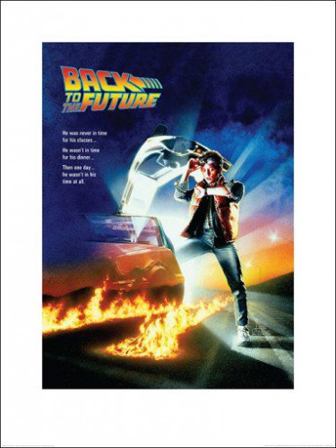 Back To The Future - One Sheet