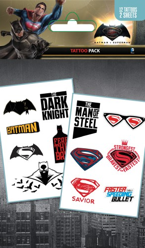 Batman Vs Superman - Mix, 12 Tattoos