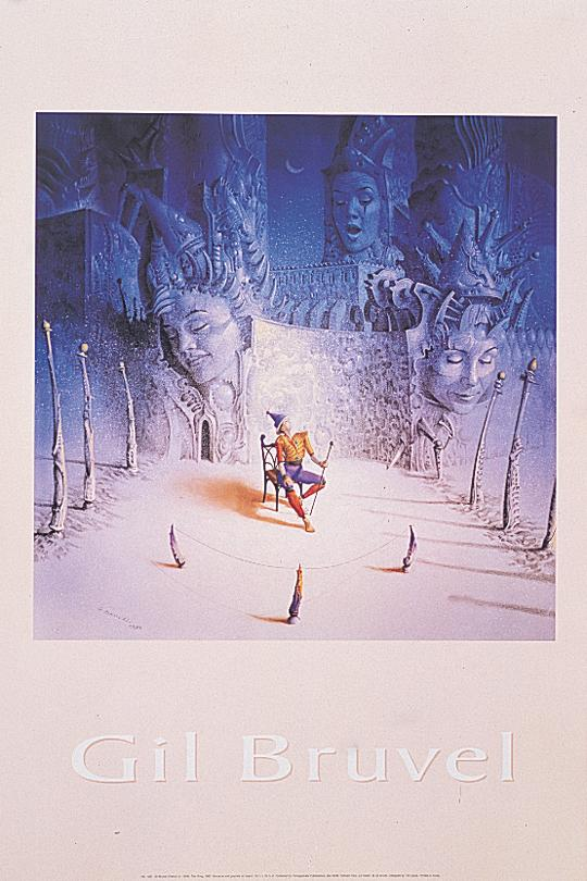 Gil bruvel the song poster 89x59cm 958 ebay for Posters art contemporain