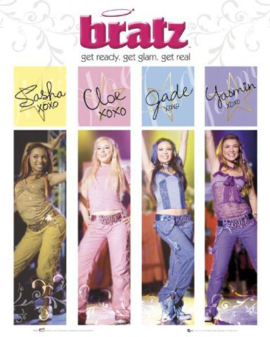 bratz the movie get real i mini posters buy posters