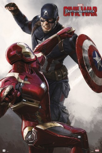 Captain America - Civil War, Captain America Vs Iron Man