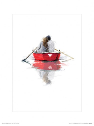 Couples - Couple In A Boat, Richard Macneil