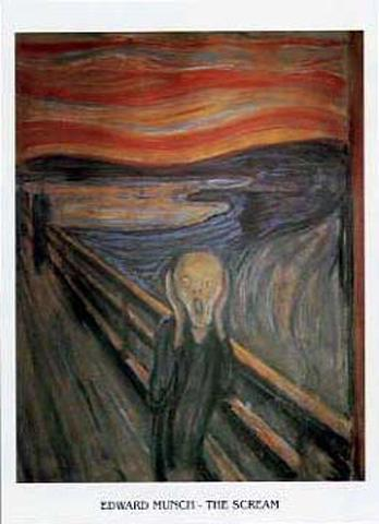 Edvard Munch - The Scream XII