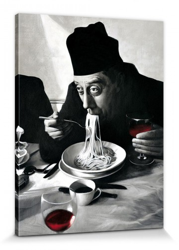 Cuisine - Spaghetti, Red Wine Don Camillo