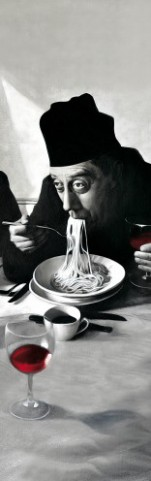 Cuisine - Spaghetti, Red Wine Don Camillo, 1 Part