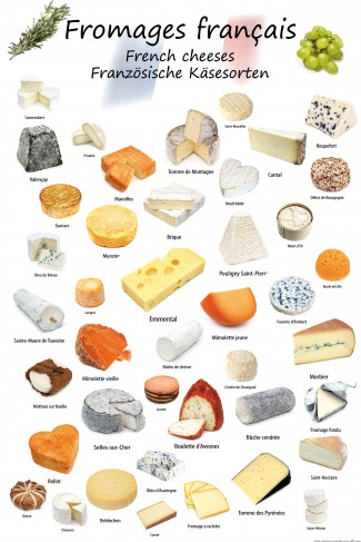 Cheese - French Cheeses