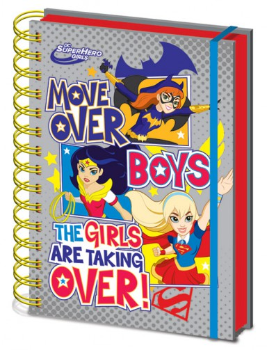DC Comics - Super Hero Girls, Move Over Boys, Lenticular