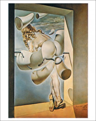 Salvador Dali - Young Virgin Auto-Sodomized By The Horns of Her Own Chastity