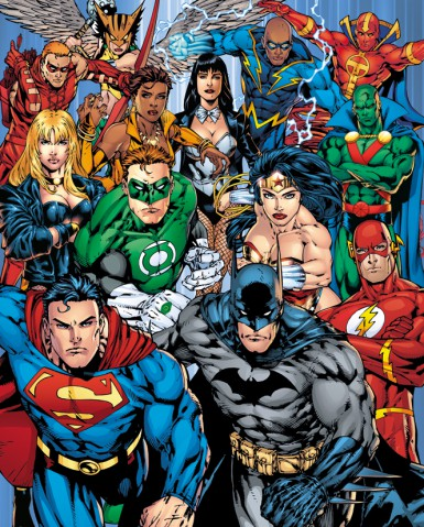 DC Comics - Die Superhelden Der Justice League