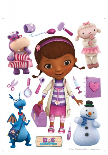 Doc McStuffins - Dottie, Stuffy, Lambie, Chilly And Hallie