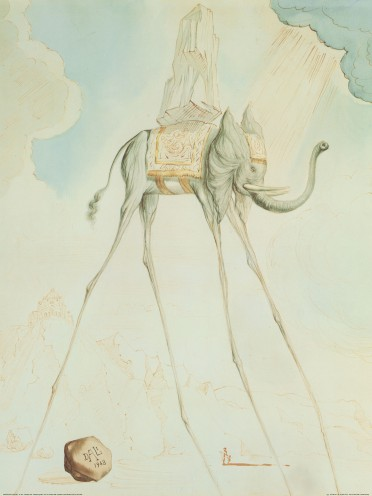 Salvador Dali L 233 L 233 Phant Giraffe Art Prints Buy