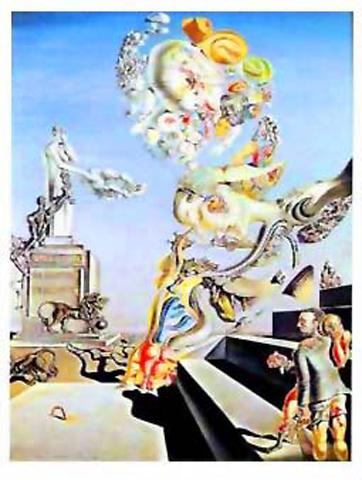 Salvador Dali The Lugubrious Game 1929 Art Prints