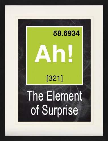 Fun - Ah, The Element Of Surprise