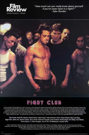 Fight Club - Brad Pitt, Film Review Collection (Fight Scene)
