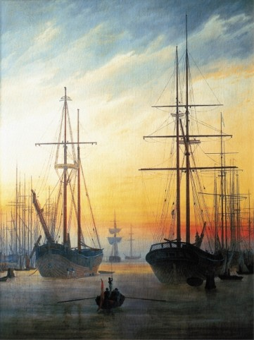 Caspar David Friedrich - Vue Du Port