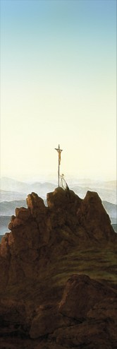 Caspar David Friedrich - Morgen Im Riesengebirge, 1810, Detail