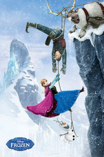 Frozen - Anna, Kristoff, Sven And Olaf