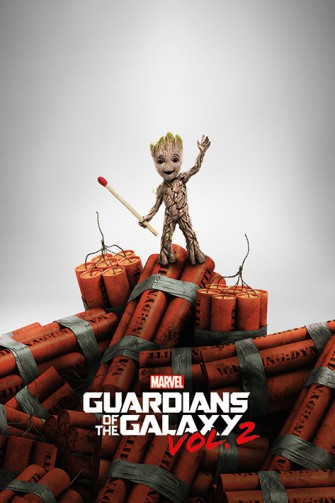 Guardians Of The Galaxy - Vol. 2, Groot With Dynamite
