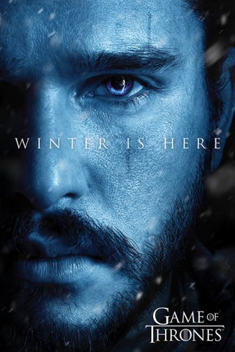 Game Of Thrones - Winter Is Here - Jon Snow, Kit Harington