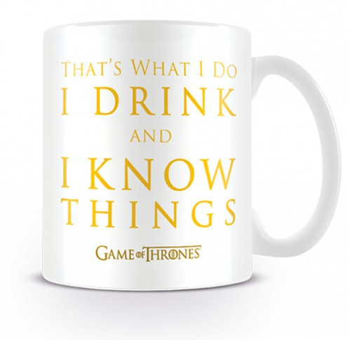 Game Of Thrones - I Drink And I Know Things, Tyrion Lannister