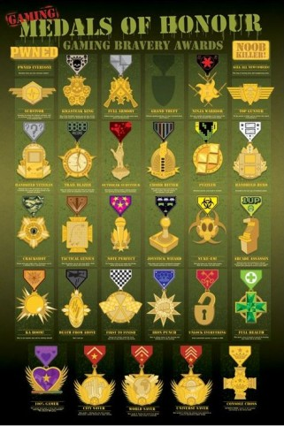 Gaming - Medals Of Honour