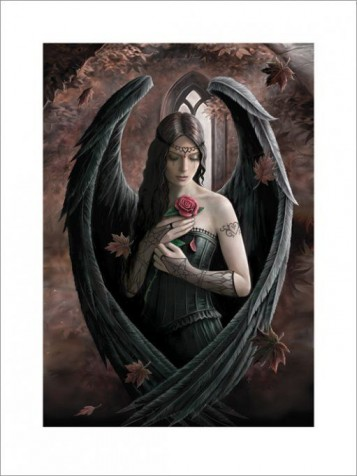 Gothic - Angel Rose, Anne Stokes