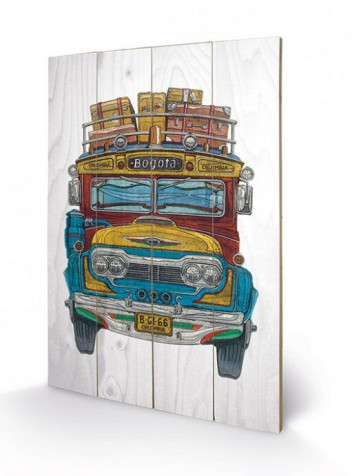 Buses - Colombian Bus, Barry Goodman