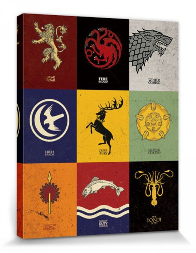 Game Of Thrones - Sigils Of The Great Houses