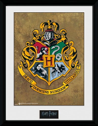 Harry potter blason de poudlard posters de collection encadr s acheter des posters sur le - Harry potter blason ...