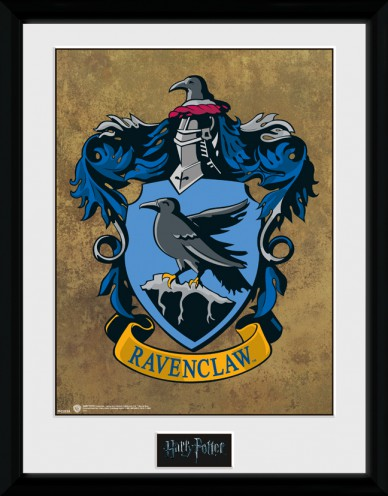 Harry potter blason de serdaigle posters de collection - Blason serdaigle ...