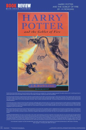 Harry potter goblet of fire summary