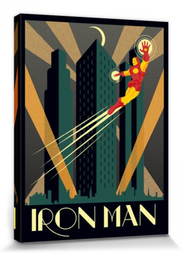 Iron Man - Marvel Comics, Art Deco