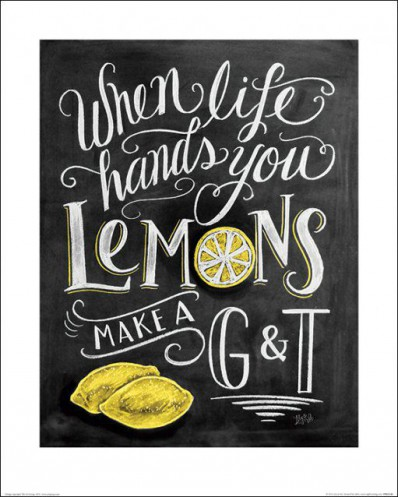 Inspiration - When Life Hands You Lemons, Lily & Val