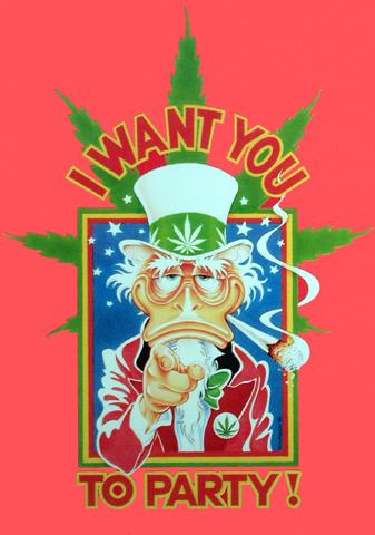 Cannabis - I Want You To Party
