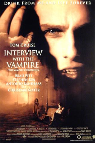 Interview With A Vampire - Tom Cruise - Brad Pitt