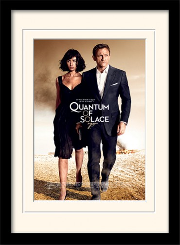 James Bond 007 - Quantum Of Solace One-sheet